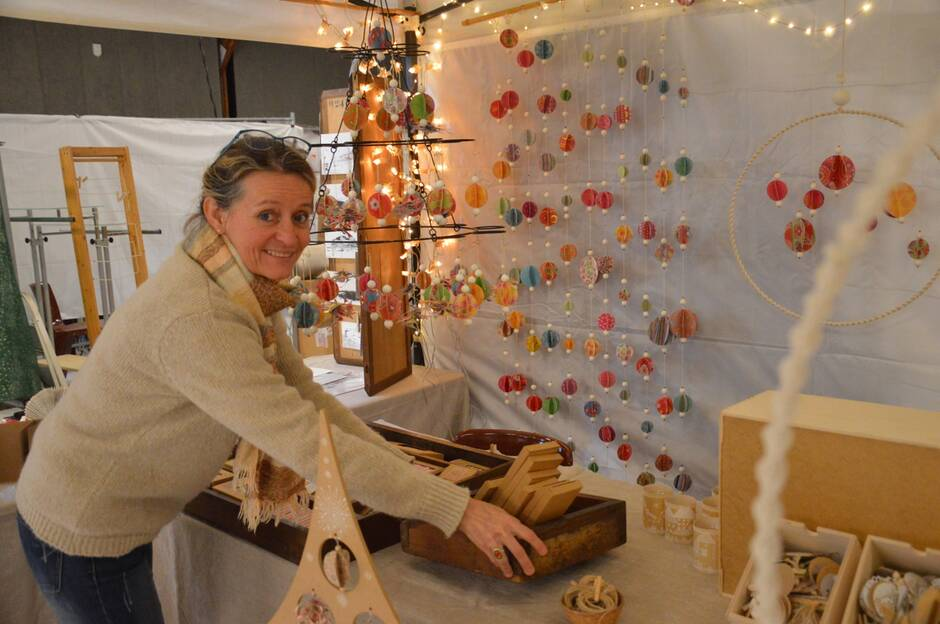 Le Salon Artisan'Art se déroule tout le week-end à Châteaulin.